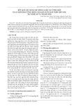 Kết quả xây dựng mô hình canh tác tổng hợp và cơ giới hóa từng phần cho sản xuất ngô trên đất dốc tại Nghệ An và Hà Tĩnh