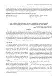 Ảnh hưởng của nồng độ và thời gian xử lý khí ethylene đến chất lượng và thời gian chín quả chuối tiêu hồng