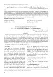 Đánh giá đặc điểm thực vật học của cây Bạch truật Sapa phục vụ chọn giống