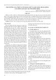 Ảnh hưởng của thời vụ tới năng suất và khả năng nhân giống của giống sắn KM7 tại tỉnh Bình Định