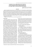 Nghiên cứu đặc điểm hình thái, sinh học của bọ trĩ hại chuối và khảo sát hiệu lực của dịch chiết lá húng quế đối với chúng