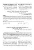 Nghiên cứu chọn tạo và phát triển sản xuất dâu tây cho vùng cao Việt Nam