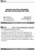 Bài giảng Anh văn chuyên ngành Xây dựng