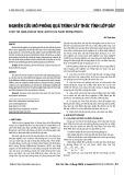 Nghiên cứu mô phỏng quá trình sấy thóc tĩnh lớp dày