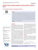 Đạo hàm theo tia cấp hai dạng hợp của ánh xạ nhiễu trong tối ưu đa trị