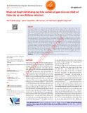 Khảo sát hoạt tính kháng oxy hóa và bảo vệ gan của cao chiết vỏ thân cây cò sen (Miliusa velutina)