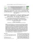 Đánh giá tài nguyên đất và nước xã Na Ư, huyện Điện Biên, tỉnh Điện Biên phục vụ xây dựng mô hình phát triển bền vững tích hợp 3E+1