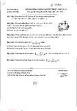 Đề thi cuối học kỳ 3 môn Toán kỹ thuật - Năm học 2013 - 2014