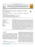 Near UV-light excitable SrAl2O4:Eu3þ nanophosphors for display device applications
