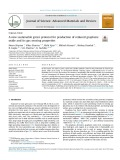A new sustainable green protocol for production of reduced graphene oxide and its gas sensing properties