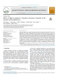 Effects of MgO on dielectric relaxation and phase transition of the ceramic matrix BaBi4Ti4O15