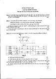 Đề thi học kỳ Kỹ thuật điện lạnh