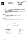 Đề kiểm tra giữa kỳ môn Các nguồn năng lượng - Nhà máy điện
