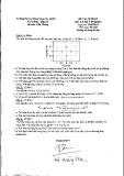 Đề thi cuối kỳ môn Xử lý số tín hiệu