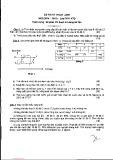 Đề thi học kỳ II môn Kỹ thuật lạnh - Lớp DD11 KTD