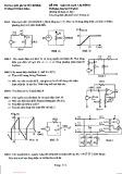 Đề thi môn Giải tích mạch - Lớp HTD13