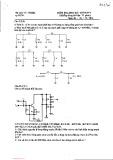 Đề kiểm tra cuối kỳ môn Điện tử tần số vô tuyến điện