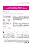 Các quy định của pháp luật về cam kết loại trừ bán phá giá và kiến nghị