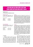 Tự do hóa dịch vụ phân phối tại Việt Nam trong khuôn khổ cộng đồng kinh tế ASEAN