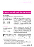 Quy định pháp luật về quản trị ngân hàng thương mại cổ phần