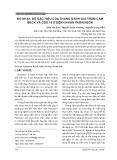 Độ nhạy, độ đặc hiệu của thang đánh giá trầm cảm BECK và GDS 15 ở bệnh nhân Parkinson