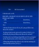 Bài giảng Giải tích 12 - Bài 2: Cực trị của hàm số