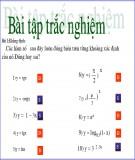 Bài giảng Giải tích 12 - Bài 1: Sự đồng biến, nghịch biến của hàm số