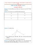 Tổng hợp phiếu bài tập môn Hình học lớp 6 học kì 2 (Tuần 22)