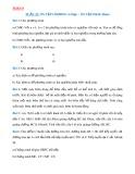 Bài tập Toán lớp 9: Phương trình bậc hai một ẩn và ôn tập học kì 2 Hình học 9