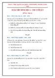 10 bài tập thi cuối kì 1 Hình học 6
