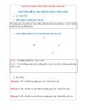 Chuyên đề Toán lớp 6 – Hình học: Tia phân giác của góc