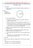Chuyên đề Toán lớp 9 - Hình học: Sự xác định đường tròn, tính chất đối xứng của đường tròn
