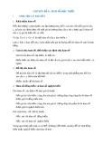 Chuyên đề Toán lớp 9: Hàm số bậc nhất
