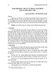 Tinh chỉnh đặc trưng từ trong gom nhóm tập câu hỏi tiếng Việt