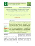 Study of some hematological and biochemical parameters of sheep babesiosis in shikan locality – North kordufan state –Sudan