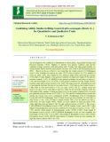 Combining ability studies in ridge gourd [Luffa acutangula (Roxb.) L.] for quantitative and qualitative traits