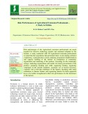 Role performances of agricultural extension professionals – A study in Odisha