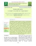 Economics of rice and pea