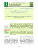 Impact of weed management interventions on weed dynamics, production potential and relative economics of direct seeded basmati rice preceded by wheat