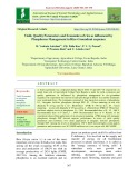 Yield, quality parameters and economics of rice as influenced by phosphorus management in rice-groundnut sequence