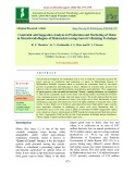 Constraint and suggestion analysis in production and marketing of maize in Marathwada region of Maharashtra using garrett's ranking technique