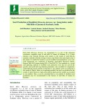 Seed production of knolkhol (Brassica oleracea var. Gongylodes) under Mid Hills of Jammu & Kashmir, India