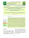 Integrated effect of nutrient and pesticide management on production and productivity of rice variety Pusa Basmati-1509