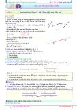 Bài tập Véc tơ và các phép toán