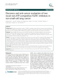 Discovery and anti-cancer evaluation of two novel non-ATP-competitive FGFR1 inhibitors in non-small-cell lung cancer