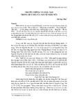 Truyền thống và sáng tạo trong hát nói của Nguyễn Khuyến