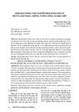 Cảnh quê trong thơ Nguyễn Bính, Đoàn Văn Cừ trước cách mạng, những tương đồng và khác biệt