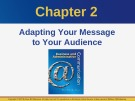 Lecture Business and administrative communication: Chapter 2 - Kitty O. Locker, Donna S. Kienzler