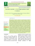 """Innovations in agriculture – A case of """"Digital agribusiness models"""""""