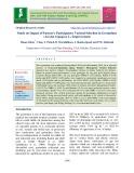 Study on impact of farmer's participatory varietal selection in groundnut (Arachis hypogeae L.) improvement